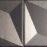 15x15 Trames 1-2 Black-Silver Matt