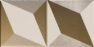 15x15 Trames 1-2 White-Gold Matt