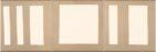 15x15 Metrik Cream 3-1-2 Silver Matt